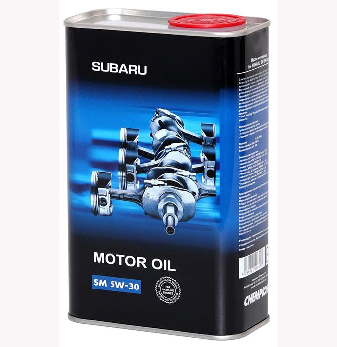 chempioil (metal) motor oil subaru 5w30 4л