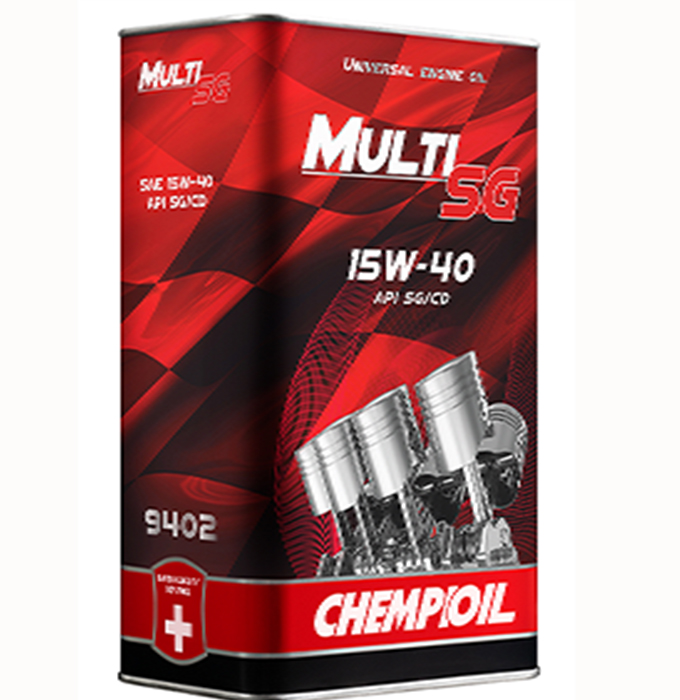 chempioil (metal) multi sg 15w-40 4 l